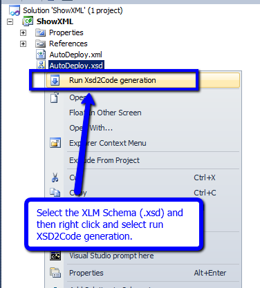 XML to Serializable Class in Visual Studio  | Augmented Developer